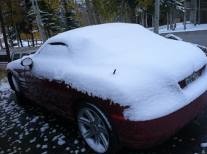 Not a SNOW car!
